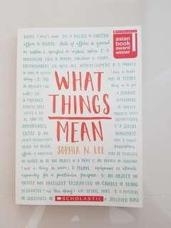 🚚 What Things Mean Children Book