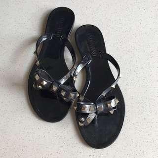 Valentino Rockstuds Sandals Black 37