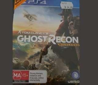 Ghost recon ps4 game