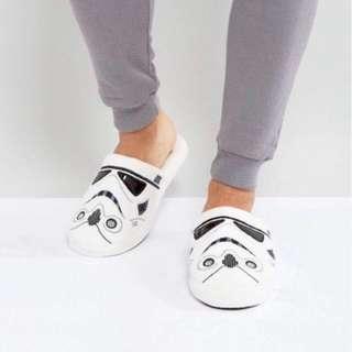 Star Wars Storm Trooper Mule Slippers