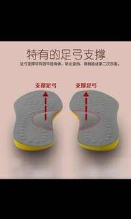New insole for 'O' shape legs