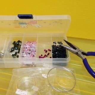 水晶串珠及手作工具