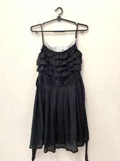 🚚 Black sequin dress