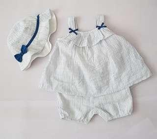 0 to 3months Baby Romper