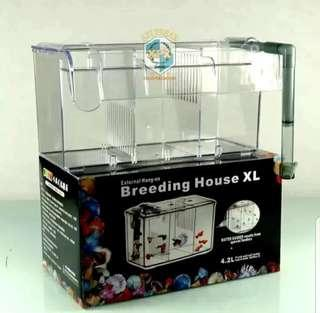 🚚 External Breeding / Isolation Tank for Small / Betta Fish