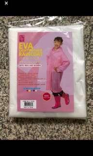 Kid Reusable Raincoat