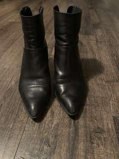 Topshop genuine leather boots