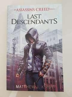 🚚 Assassin's Creed Last Decendants Storybook