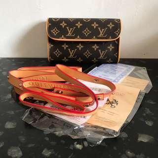 LV Louis Vuitton Josephine Belt Bag Mirror BNIB