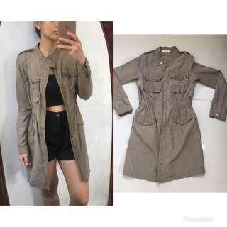 Lightweight Coat Military Green