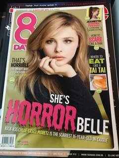 8 Days Chloe Grace Moretz Cover