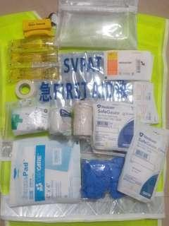 急救包 常用物件 急救員親自組合 居家旅行 保證實用