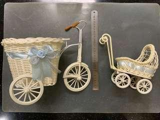 Baby Cart & Bicycle