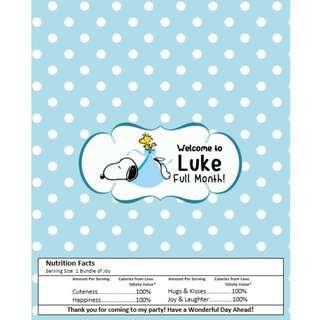 🚚 Kit Kat Chocolate Wrapper - Snoopy