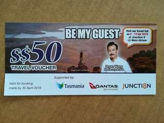 BEST DEAL! Saved $48! Be My Guest Travel with Bryan Wong $50 Travel Voucher for SALE!