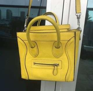 Celine Nano yellow