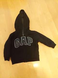 Kids Baby Gap fleece hoody jacket 2yrs