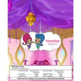 🚚 Kit Kat Chocolate Wrapper - Shimmer and Shine