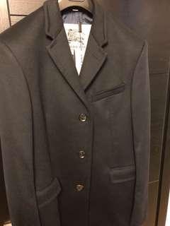 Burberry navy coat 藍色男裝長褸
