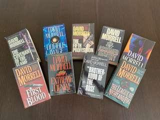 🚚 David Morrell Novels