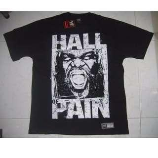 WWE Mark Henry Hall of Pain T-Shirt WWF WEW ECW TNA UFC MMC
