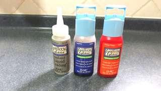 Gallery glass paints for stained glass