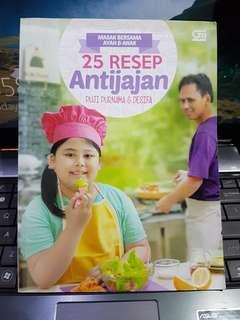 Buku masak untuk bekal sekolah Anak