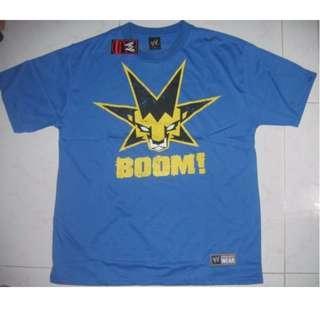 WWE Kofi Kingston King of the Boom T-Shirt WWF WEW ECW TNA