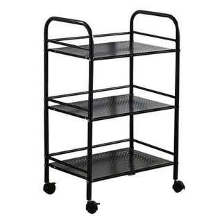 Ready Stock✨Multipurpose 3 Tier Kitchen Rack With Wheels