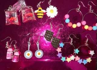 🚚 Quirky & Colourful Handmade Earrings!