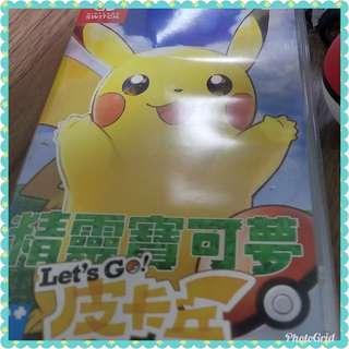 switch game 比卡超 pokemon