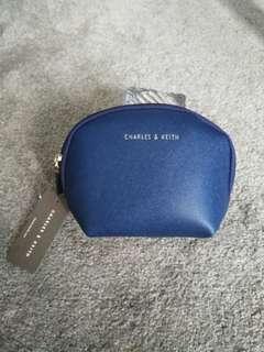 Make up pouch dark blue