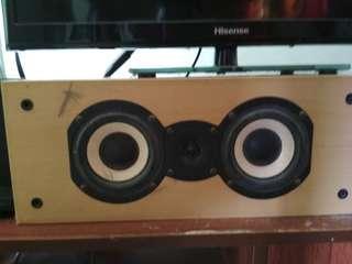 center audio speaker