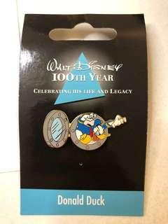 迪士尼襟章 100 year Japanese Disney Pins Donald Duck
