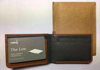 全新Bellroy The Low wallet 銀包