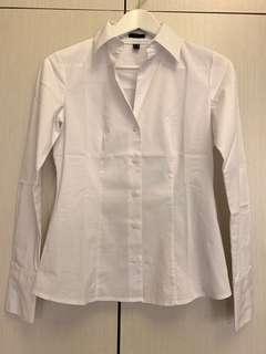 🛍二手衣大拍賣🛍 #ESPRIT #白襯衫 #有腰身有彈性