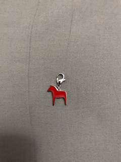 Stainless steel Horse Charm