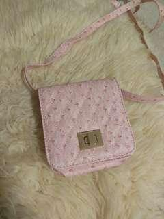 Mini pink purse