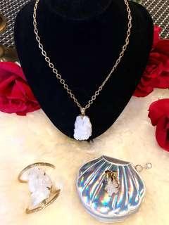 Crystal Necklace • Ring • Bracelet