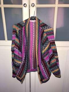 Multicolour cardigan