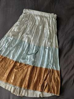 Zara pleat skirt 10