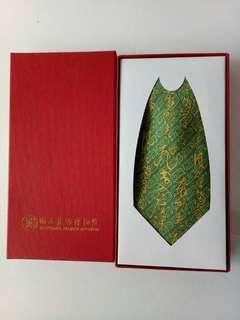 🚚 全新 純蠶絲領帶。故宮文創商品
