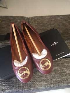 🚚 BN Authentic Coach Shoes Flats Size 6