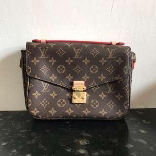 LV Louis Vuitton Pochette Metis Monogram Bag Tas