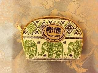 曼谷大象圖騰零錢包🐘