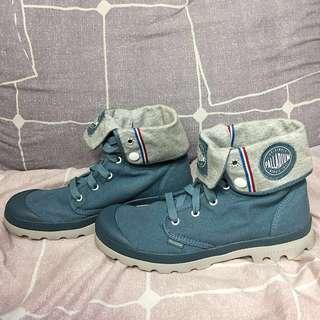 REPRICED!! Palladium • Boots & Ankle Boots • Baggy Lite Canvas Blue