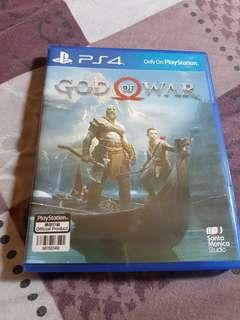 God of War PS4 w/ Assassins Creed Odyssey Omega pack unused code