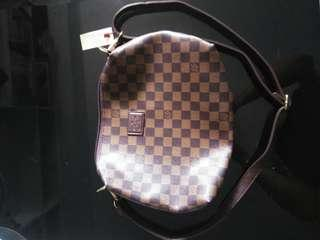Sling bag brown authentic quality