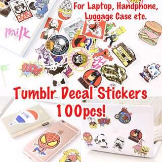 🚚 🔹Tumblr Stickers Decal Label Laptop Bullet Journal 🌟