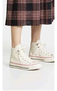 🚚 Limited Edt110 USD Converse Chuck 70 Leather Hi Top Sneakers